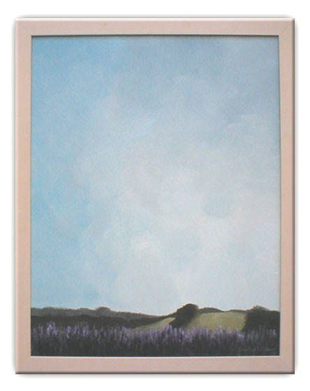 'In the Lavender Garden, Red Hill'